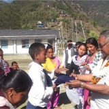 School uniform distribution program at Shree Shitalpati Lower Secondary School