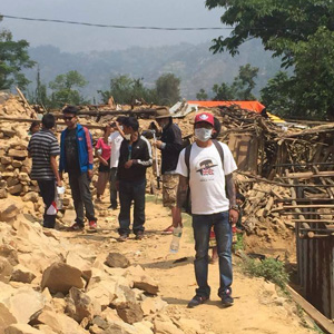 Gurkha Peace Foundation helping in Nepal
