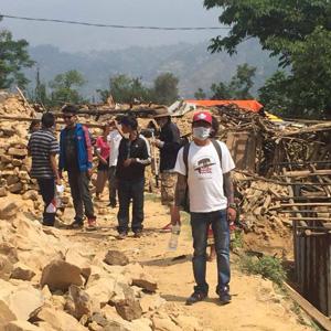 Gurkha Peace Foundation helping in Nepal