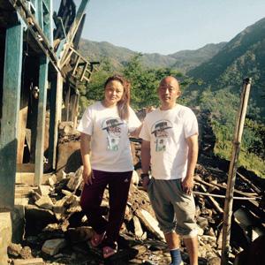 Gurkha Peaec Foundation helping in Nepal